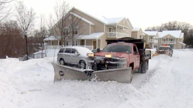 About a dozen states face bone-chilling weather