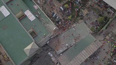 More than 200 dead after magnitude 7.1 quake strikes Mexico
