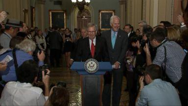 Senate Republicans admit defeat on new health care bill