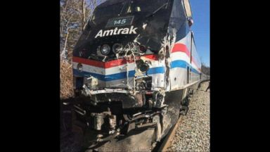 Train packed with Congress members, staff and family slams into truck