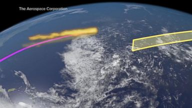 Scientists say pieces of space debris may be heading toward US