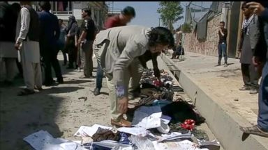 Suicide bomber in Kabul, Afghanistan, claims the lives of more than 50 people