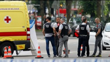 Belgian police say man in suspected terror attack was set to return to prison