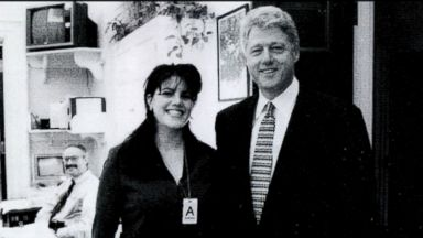 Bill Clinton gets questions about Monica Lewinsky on book tour
