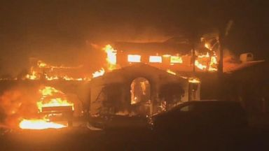 A state of emergency has been declared in Santa Barbara, California due to wildfires