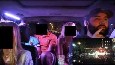 Ride-share driver under fire for live-streaming his passengers