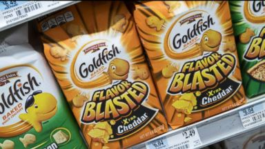 4 kind of Goldfish crackers recalled due to possible salmonella risk