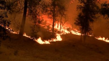 Carr blaze jumps river as winds create fire tornadoes in California