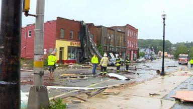 Tornado strikes reported along New England