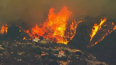 Raging wildfires continue to blaze across the West