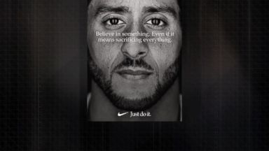 Colin Kaepernick new face of Nike's 'Just Do It' campaign