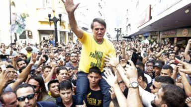 Presidential candidate in Brazil brutally stabbed at campaign event