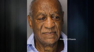 Bill Cosby behind bars