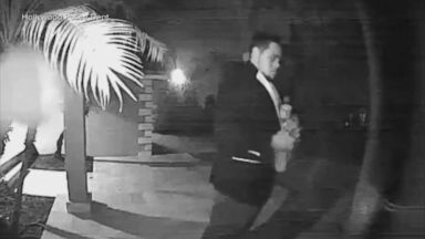 Arson suspect wanted for igniting fire to an Airbnb home in Florida