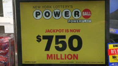 $750 million up for grabs in 4th-largest Powerball
