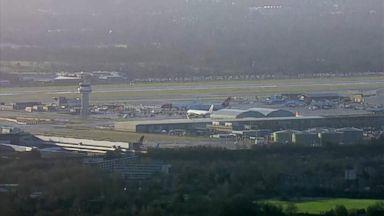 Drones shut down London airport