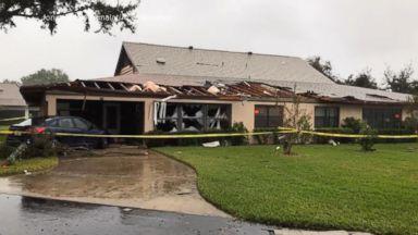 Tornadoes slam down on Florida neighborhoods