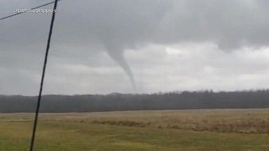 Rare tornado lands in Ohio as storm sets sights on Northeast