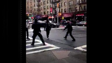Violent arrest in New York City under police probe
