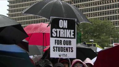 Teachers in Los Angeles strike for the first time in 30 years