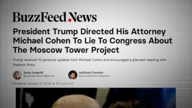 Democrats vow to probe report that Trump told Cohen to lie to Congress