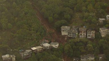 Mudslide and flooding in California causing massive evacuations