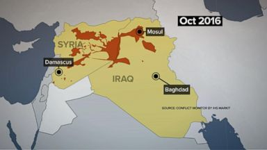 ISIS forces now cornered in Syria
