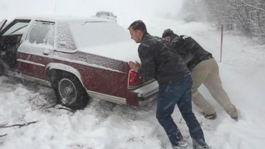 Massive winter storm hits Northeast during evening commute