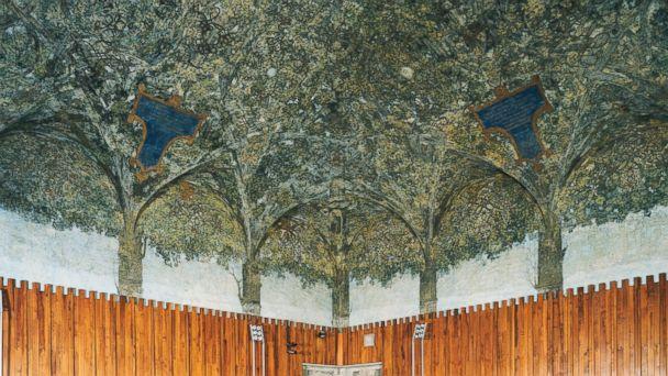 Lost Da Vinci Mural Found In Milan Castle Abc News