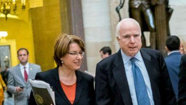 Sen. Amy Klobuchar reminisces about her relationship with Sen. McCain